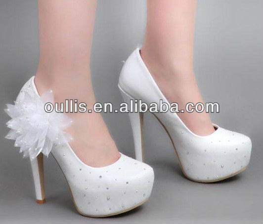 wedding shoes for bride form China footwear CP6233