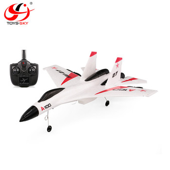 WL Toys A100 2.4G 3CH RC Airplane SU27 fighter rc jet planes