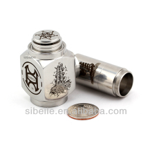 New inventions!!! hammer mod clone copper e-cigarette mechanical mod