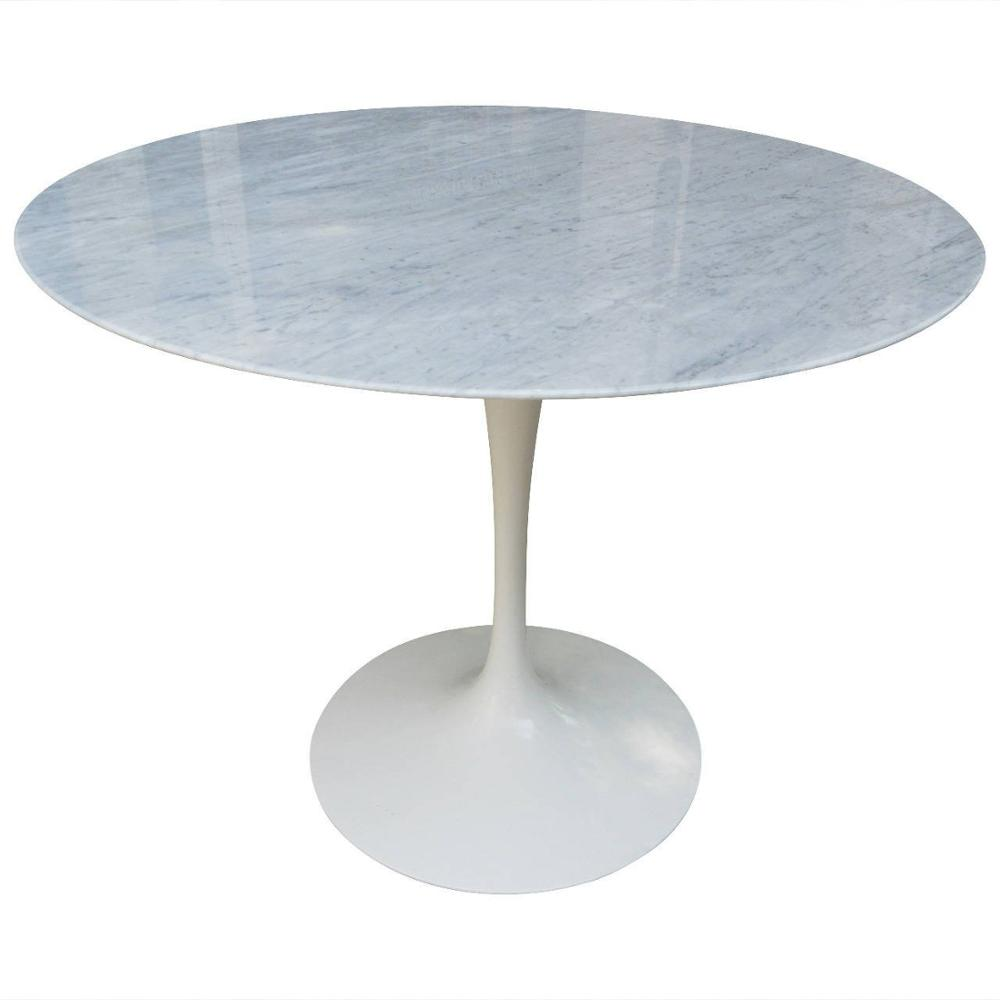 JH-121 replica oval marble tulip table/oval aluminum tulip coffee table/oval tulip fiberglass coffee table