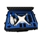 Tricases china factory price IP67 customize injection plastic professional dji case M2620 for Phantom 3 and Phantom 4