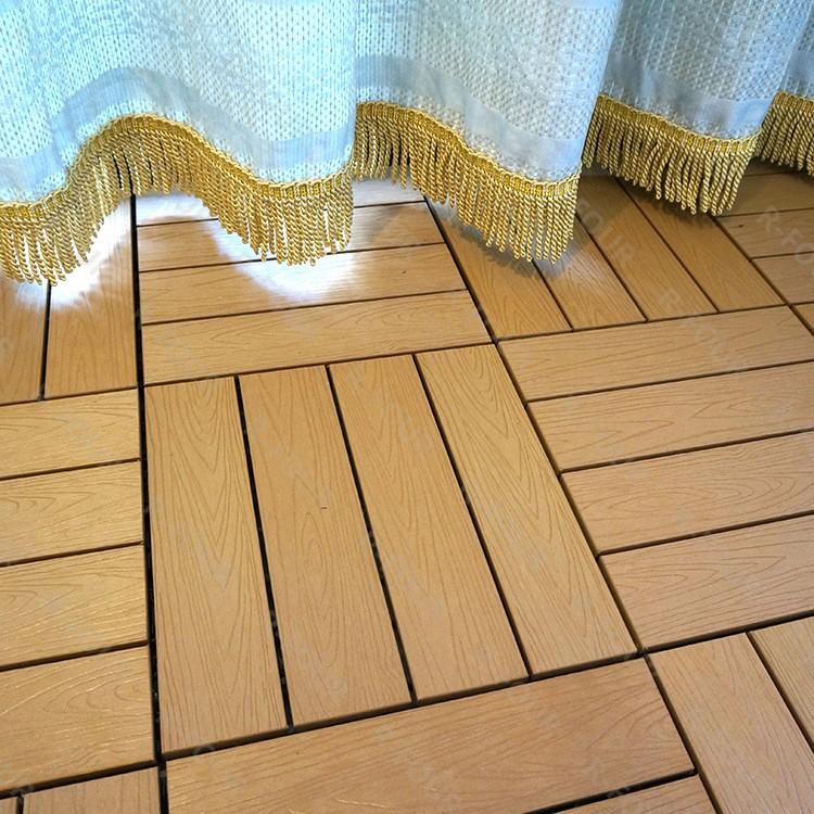 Canada Wood Patio Tiles Interlocking Composite Deck Tiles