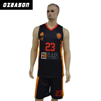 ca79215f1e68 wholesale reversible orange and black basketball uniforms cheap youth basketball  uniforms