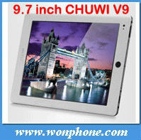 9.7inch Dual Core RK3066 Tablet PC CHIWI V9 + 1.6GHz + 1GB/16GB