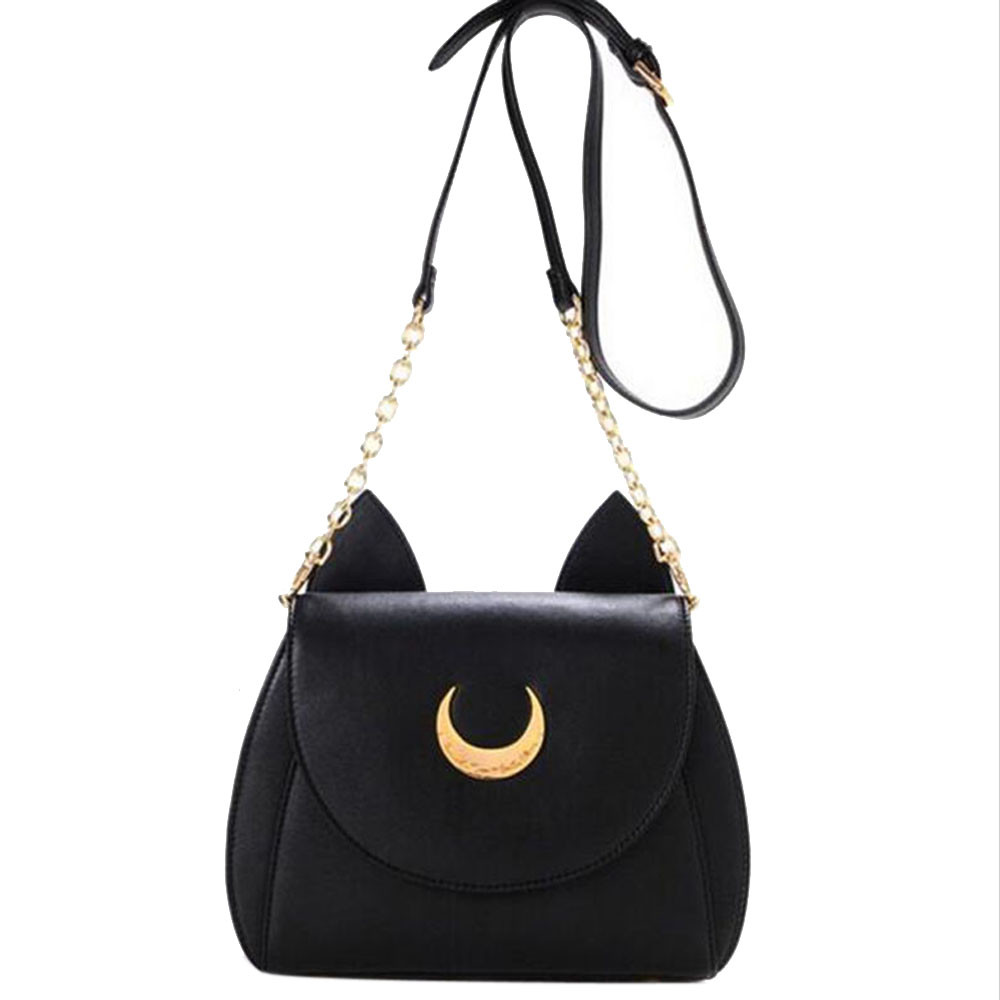 Wholesale-Cute Sailor Moon Women Shoulder Bag Ladies Cat Ears Luna ... da33e7d07f0fa