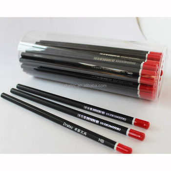 Professional Drawing Pencils Hb With Dip End,Blacklead Pencils,Wooden  Pencils - Buy Wooden Pencil,Drawing Pencil,Blacklead Pencil Product on