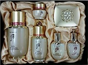 The History of Whoo Bichup Ja Saeng Self-Generating Anti-Aging Essence 2pcs Special Limited Gift Set and Hair Tie 1pc