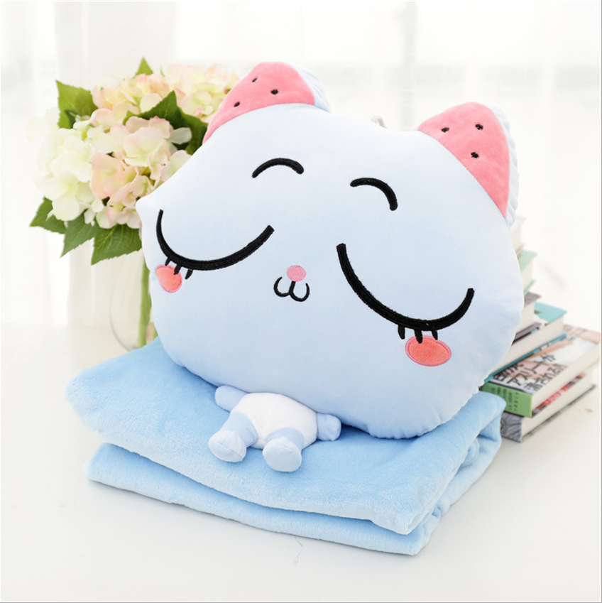 Wholesale stuffed plush weighted blankets