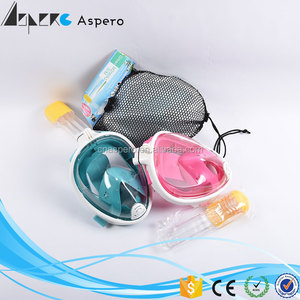 Swimming mask and snorkel set diving set Snorkel Mask with Earplugs Nose Clip diving equipment
