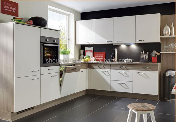Keukenkast Wit Hoogglans : Groothandel wit hoogglans china nieuwe model keukenkast met blum