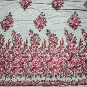 tulle embroidery lace fabric