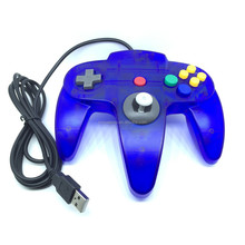 64 For N64 System For N64 Joystick For Pc For Windows Usb N64 Controller Blue