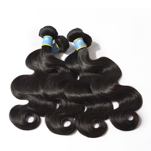 KBL Double drawn virgin hair,natural body wave virgin brazilian hair extension,wholesale double drawn hair extensions bundles