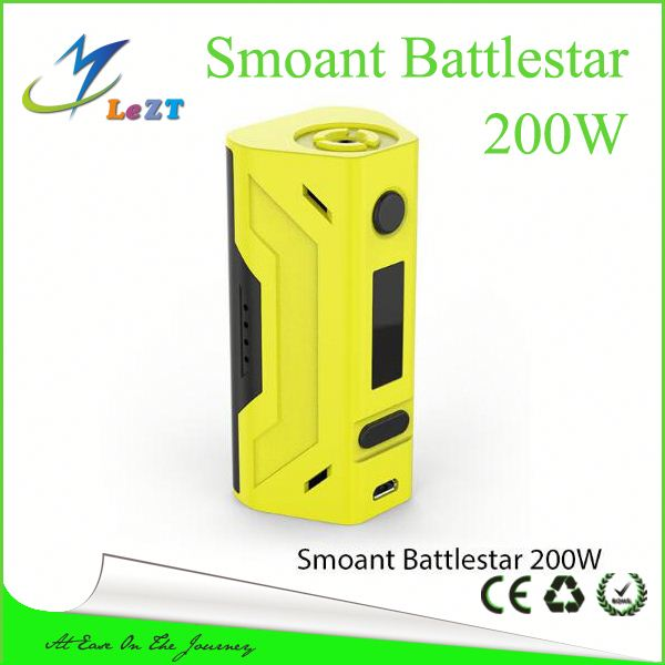 New 200w tc mod Smoant Battle star 200W TC mod battlestar VS WISMEC Reuleaux RX200S