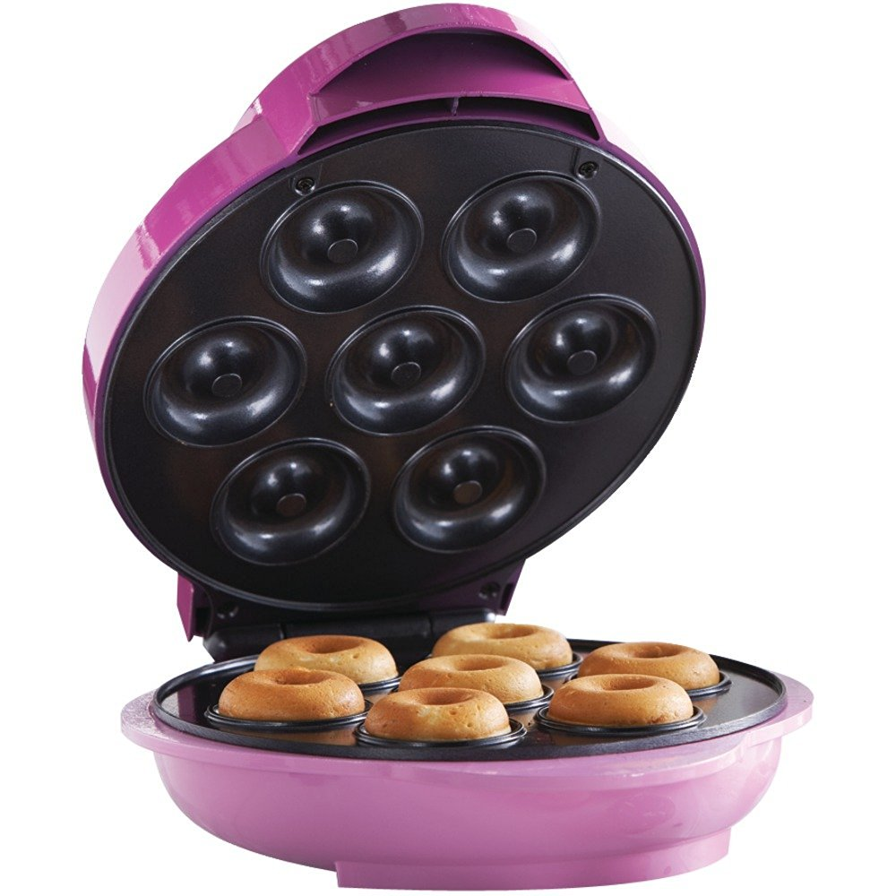 get quotations brentwood ts 250 electric food maker mini donut maker home garden - Mini House Maker