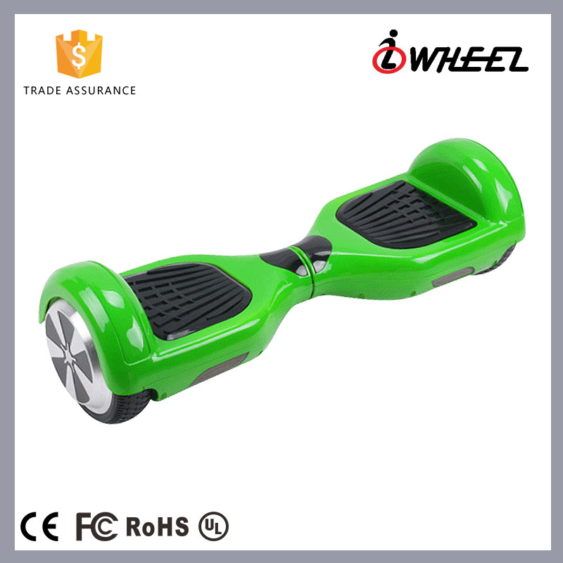 China lowest price self balancing electric scooter hover board 2 wheels with Colorful LED light