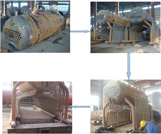 Plant Machine Coal Fired Boiler And Steam Turbine 3 Mw