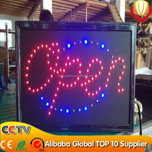 Wholesale animated <span class=keywords><strong>neon</strong></span> lights led open signs for business pass CE&ROHS approved