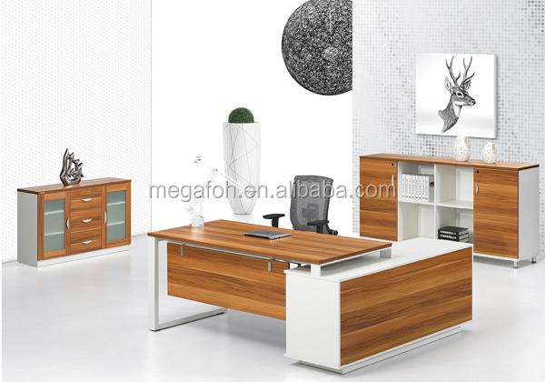 Melamine Executive Table Furniture Bureau Moderne Mobilier(foh ...