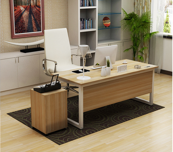 Fancy Home High Tech Executive Office Desk Furniture Material