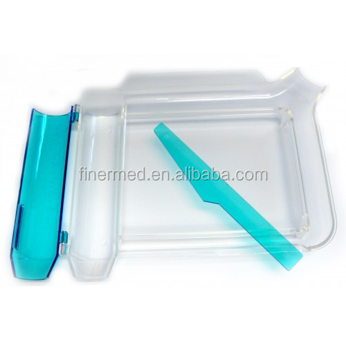 medical plastic pill counting tray
