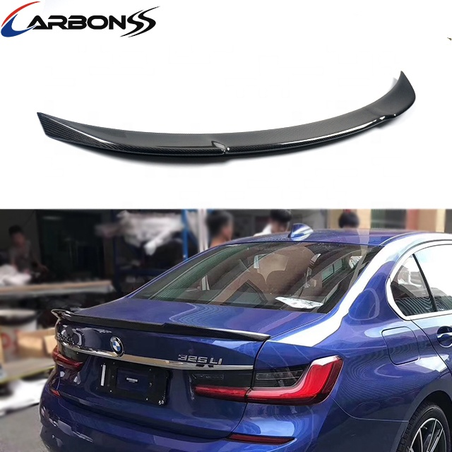 carbon fiber car spoiler rear trunk spoiler for BMW G20 2019