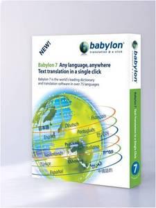 Babylon Translating software
