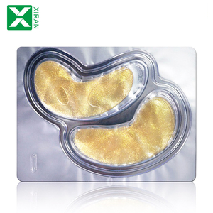Custom Hyaluronic Cool Gel Eye Mask Eye Pads Patches 24k Gold Anti-wrinkle-moisture Crystal Collagen Eye Mask