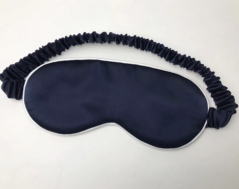 Eco-friendly breathable 100% Mulberry Silk sleeping eye mask