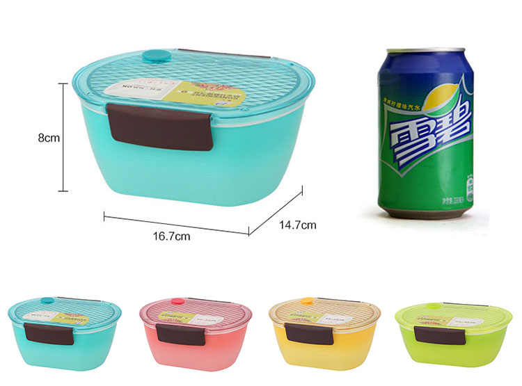 Insulated Microwave plastic bento lunch box