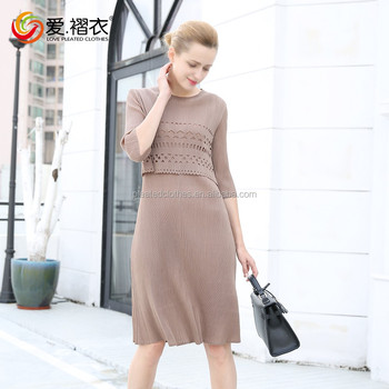 Whole Custom Fashion Turkey Women Office Dresses For Wear