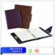 Leather spiral advertising midori notebook with custom printing