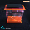 shopping for vape liquid rack shop counter acrylic design electronic cigarette display stand with lock