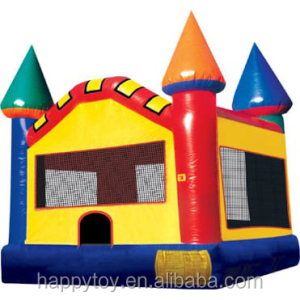 HI CE cheap colorful kids pen inflatable bouncing jumper with blower for sale