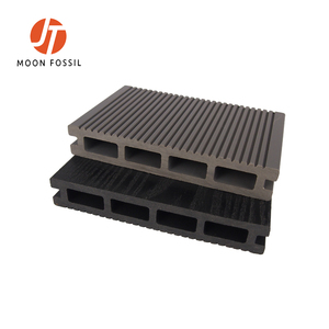 Pollution-Free Wood Plastic Composite Decking Solid High Quality WPC Decking