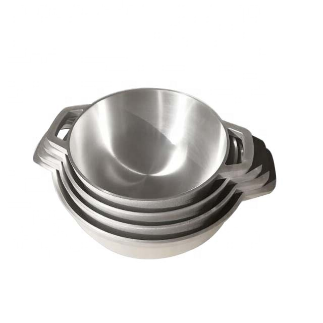 China quality die cast aluminum cookware set