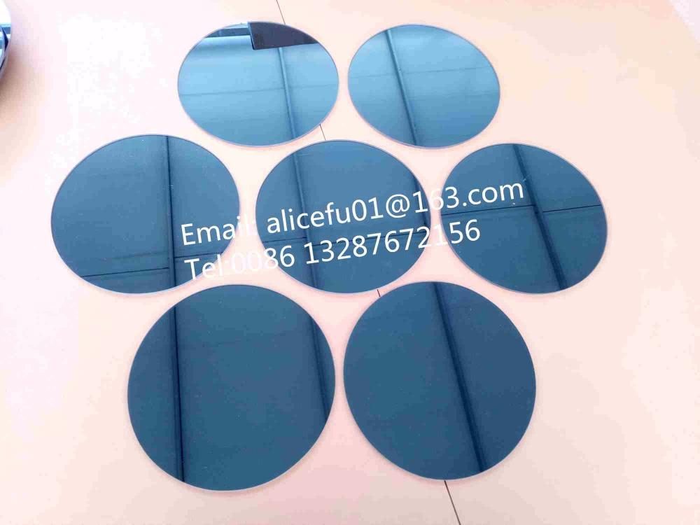 tamao ronda hexagonal adhesivo en forma de piezas de vidrio del mosaico