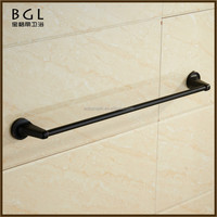 1924 Square shape Economical China manufacture Zinc alloy ORB plated Bathroom accessories towel bar