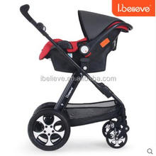 The New Luxury 3 in 1 Baby Stroller EN1888