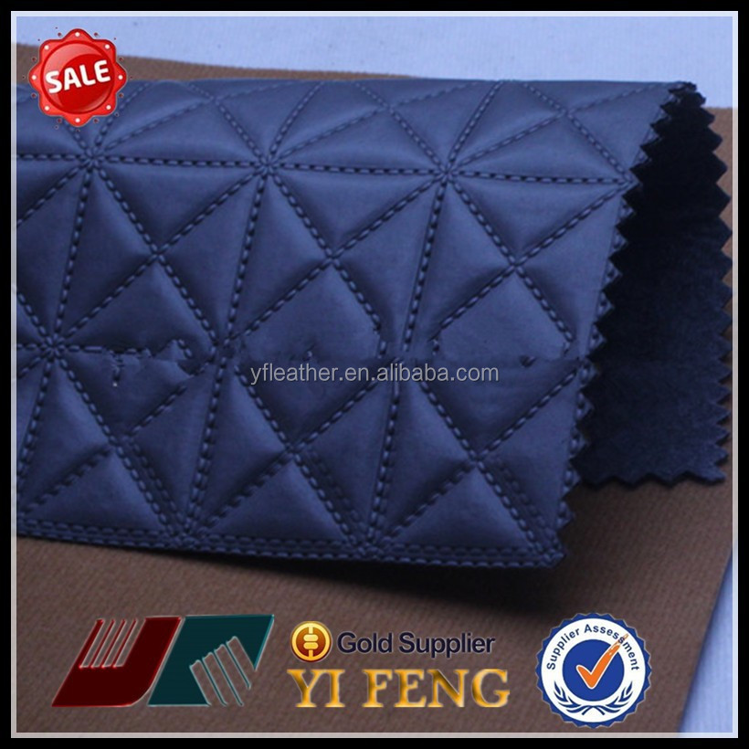 100% polyester black pu soft leather for shoe and boot