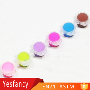 Wholesale 6 strip non toxic acrylic color paint 3ml eco for Eco friendly colours for painting