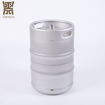 US 1/2 15.7GAL Stainless Steel Beer Kegs Drums Barrels