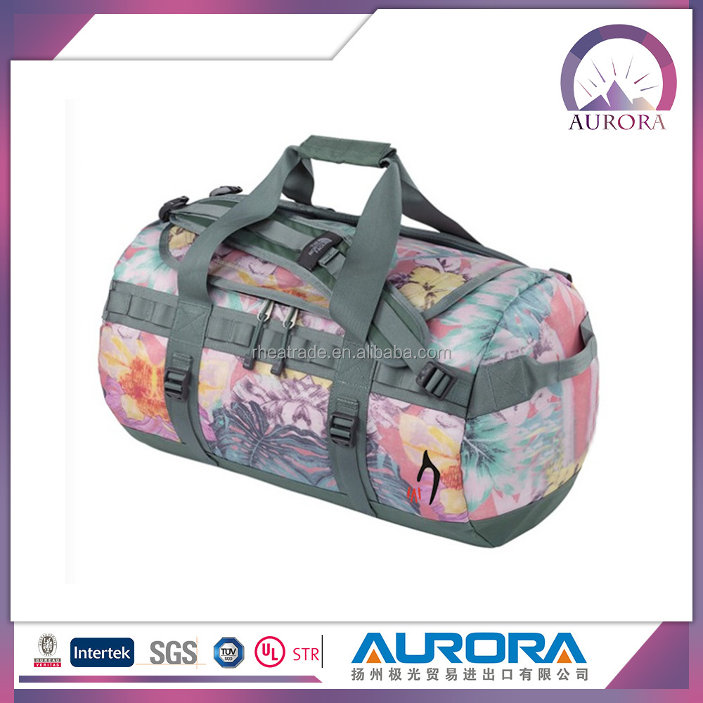 design unique folding travel luggage bags set/duffel bag