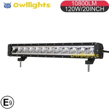 "2019 Super Slim LED Licht Bar 23 ""<span class=keywords><strong>Offroad</strong></span> 4x4 Einreihige LED 12 Volt Automotive LED lichter Bars für Off Road Fahrzeuge"