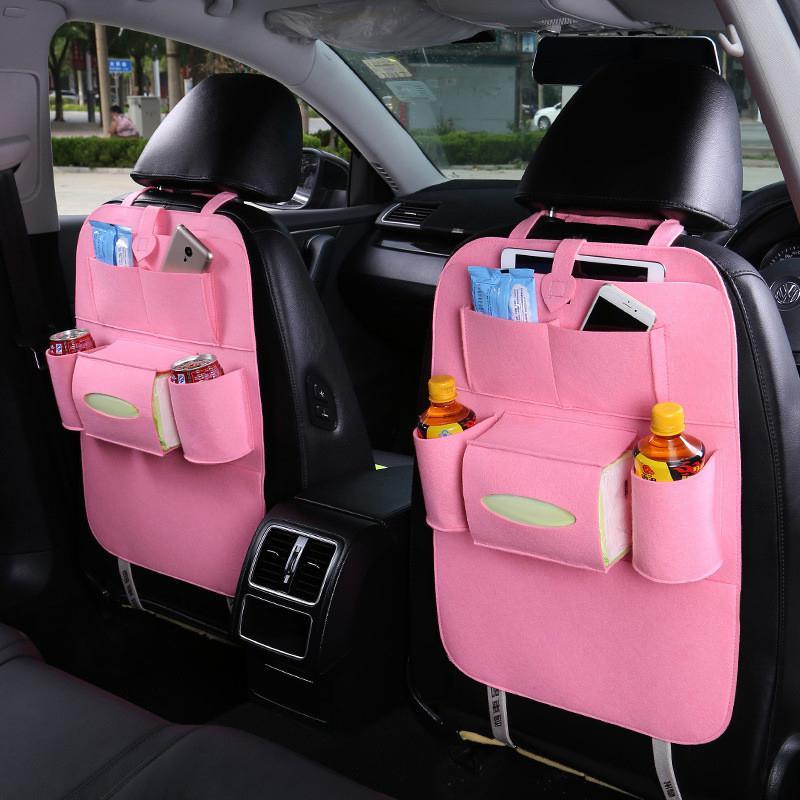 Органайзер багажник сумка для хранения на заднее сиденье спинка защита карманов Органайзер Высокая емкость многофункциональная сумка для ...(Китай)