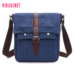 Fancy ladies single shoulder bags bolsa mensageiro masculina woman leisure small canvas messenger bag men casual