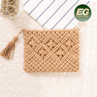 2017 Lastest design Cotton Fabric Material wallet handmade design purse emboridery clutch bag T111