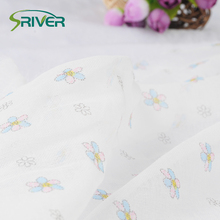 100 cotton muslin cheesecloth printed fabric suppliers