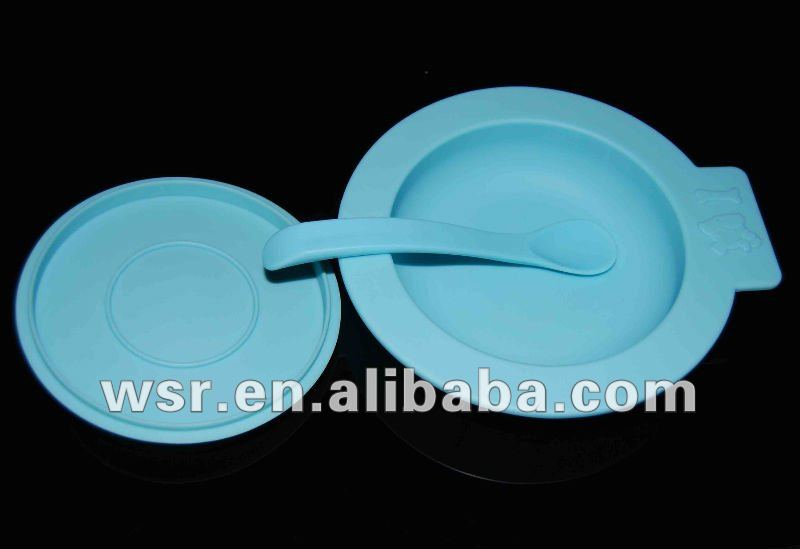 silicone environmently dish