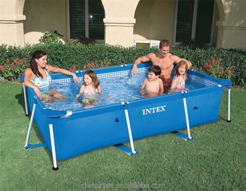 Intex Tube Rack Swimming Pool 28270 Rectangle Frame Pool - Buy Rectangular  Frame Pools,Intex Steel Frame Pool,Swim Pool Product on Alibaba.com
